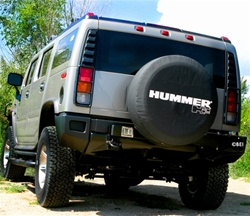 hummer h2 spare tire cover by boomerang. Black Bedroom Furniture Sets. Home Design Ideas