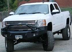 2007 2008 Chevy Heavy Duty Winch Bumper W Pre Runner