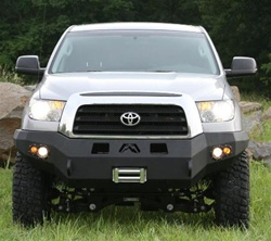 2007 2008 toyota tundra winch bumper w no grill guard. Black Bedroom Furniture Sets. Home Design Ideas