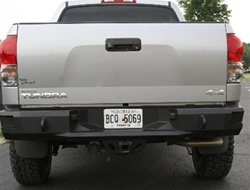 2007 2010 toyota tundra rear bumper by fab fours. Black Bedroom Furniture Sets. Home Design Ideas