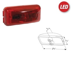 Hummer H1 Led Clearance Light Replacement Set 6 Light Set