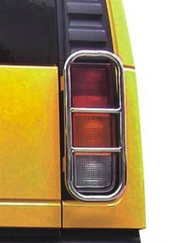 2003 09 Hummer H2 Stainless Steel Tail Light Guards