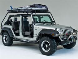 Wild Boar Jeep Wrangler Jk 4 Door Fastback Rack System